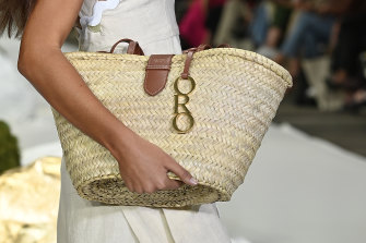 Oroton's runway was a standout for its various takes on neutral bags.