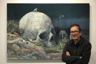 Shaun Tan, whose work has been exhibited at Beinart Gallery, mines his childhood memories for material.