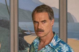 """Australian actor Murray Bartlett plays a dedicated hotel manager, who tells his staff to be """"pleasant interchangeable helpers""""."""