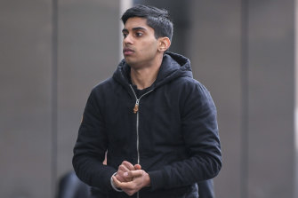 Harsimrat Singh outside the County Court in June this year.