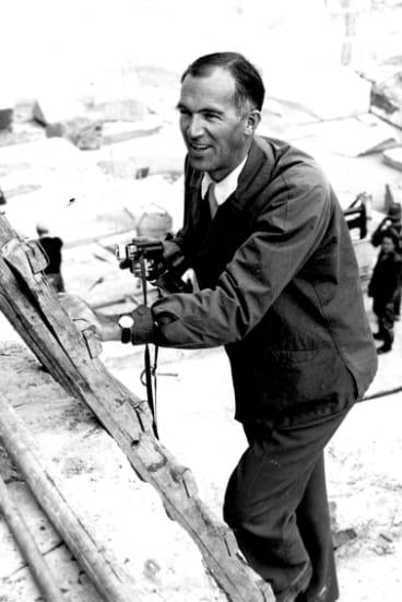 Jorn Utzon, the Danish architect of the Sydney Opera House.