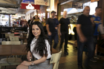 Christine Sande at Restaurant 317 in Parramatta, which she owns with her husband Pierre.