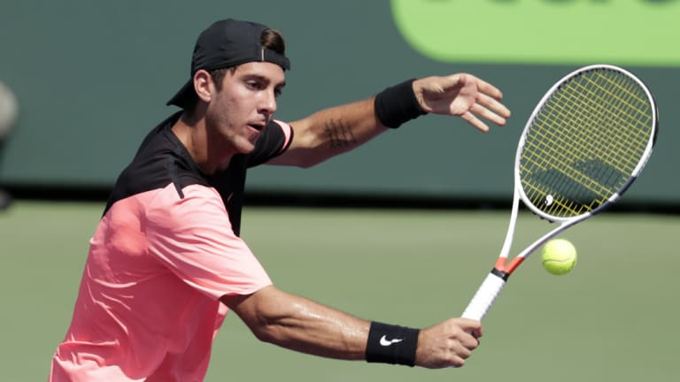 Thanasi Kokknakis is hoping for a return at Roland Garros.