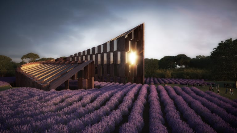 An artist's impression of Barnes Capital's 170-room hotel in the Yarra Valley.