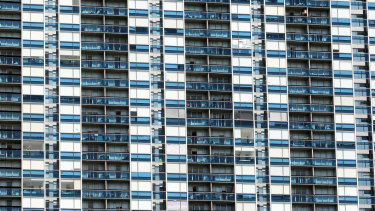 Apartment blocks and their glass balconies are a pet peeve.