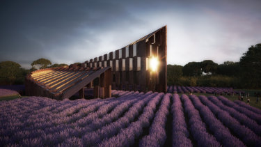 An artist's impression of the 170-room Voco Yarra Valley.