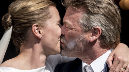 Danish Prime Minister finally gets married on third scheduling try