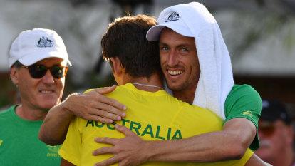 Australia draw Belgium, Colombia in Davis Cup finals