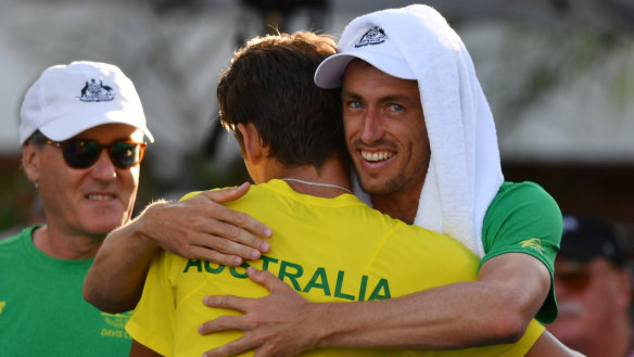 The Australians, who qualified for the finals earlier this month, have been drawn with Belgium and Colombia.