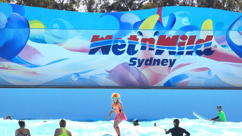 Wet 'n' Wild Sydney gets a new name and a new slide