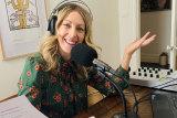 Richelle Hunt co-hosts ABC's Victorian Conversation Hour program.