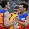 On-fire Lions beat Hawks to record sixth-straight win