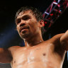 'I just heard the final bell': Pacquiao announces boxing retirement