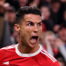 Cristiano Ronaldo was again the hero as Manchester United fought back from an early two-goal deficit against Atalanta.