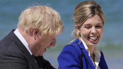 Boris Johnson's wife Carrie says she's pregnant again