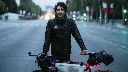 'I'd run out of food': Australian's epic 19-day, 5510km Alt-Tour de France