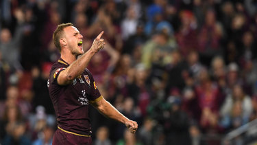 From the front: Daly Cherry-Evans has quickly made his mark in Camp Maroon.