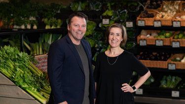 W23 directorIngrid Maes and Marketplacer founder Jason Wyatt.