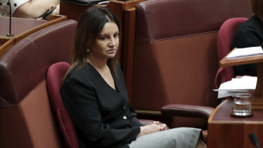An emotional Senator Lambie has voted with the government to repeal the medevac legislation.