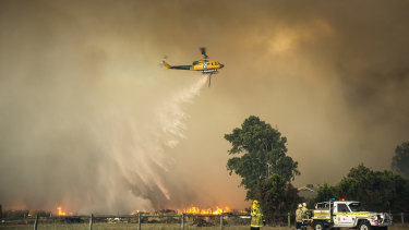 More than 20,000 homes in Perth are at risk of being destroyed during a bushfire.
