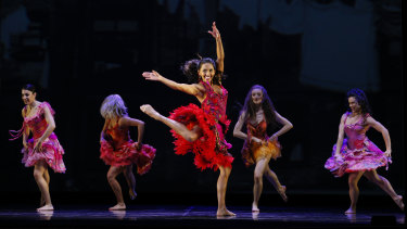 Chloe Zuel is a compelling dancing-acting-singing triple threat.