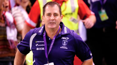 Ross Lyon's quest for a premiership at Fremantle has suffered from injury setbacks but chances have come.