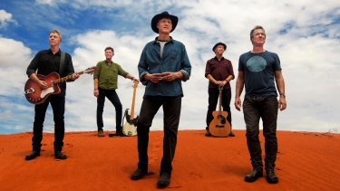 Midnight Oil's new album The Makarrata Project will be released on October 30.