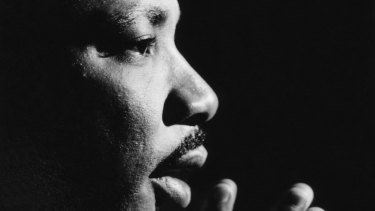 The late Martin Luther King jnr, Baptist minister, political activist, face of the American civil rights movement.