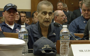Retired NYPD Detective and 9/11 Responder, Luis Alvarez speaks during a hearing by the House Judiciary Committee as it considers permanent authorisation of the Victim Compensation Fund, Washington, June 11, 2019.