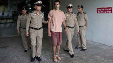 Hakeem Al-Araibi appeared in a Thai court in shackles this week.