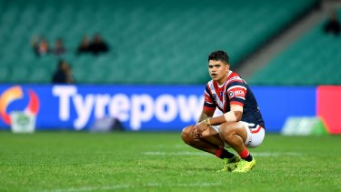 Isolated: Latrell Mitchell.