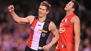 Nick Dal Santo played 260 games for St Kilda between 2002 and 2013.