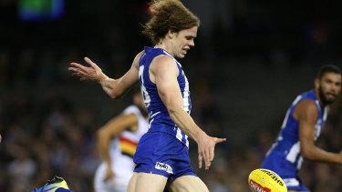 Ben Brown starred for the Kangaroos.