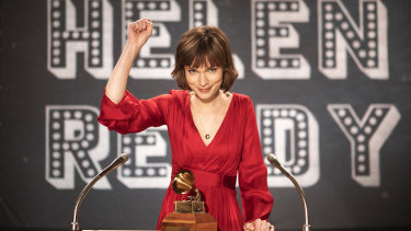 Tilda Cobham-Hervey is impressive as Helen Reddy in the biopic I Am Woman.