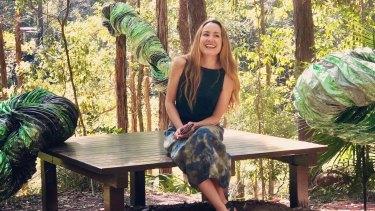 Brisbane artist Mari Hirata has won the major sculpture award at the Gold Coast Swell Festival with her work, 'Sentinels'.