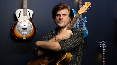 Tex Perkins emerges from lockdown to play at the Camelot Lounge.