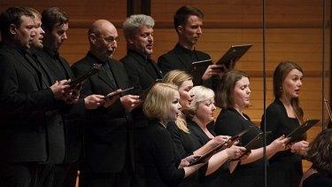 The Estonian Philharmonic Chamber Choir accompanies the Australian Chamber Orchestra.