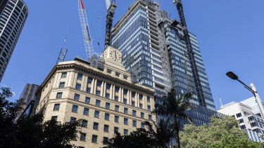 Brookfield Properties begins to unveil its revamp of the historic Shell House building as part of its $2 billion Wynyard Place development.