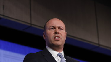 Treasurer Josh Frydenberg believes people will use the tax cuts to spend up in their local cafe.