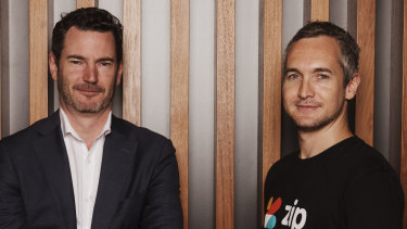 """Zip co-founders Peter Gray (left) and Larry Diamond. """"This was a sector that didn't exist a few years ago, and in the next years, it is going to look incredibly different."""""""