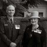 Veterans Adrian John Harding and Tamara Sloper-Harding.