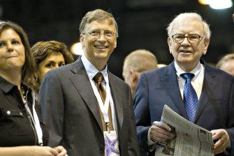 Bill Gates, left, and Warren Buffett in 2012.