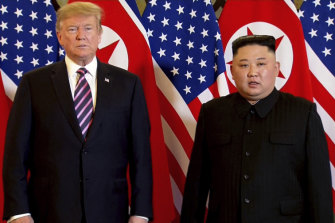 Negotiations between Donald Trump and Kim Jong-un broke down at a meeting in Vietnam in February.