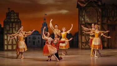 A scene from The Australian Ballet's <i>Storytime Ballet: Coppélia</i>.
