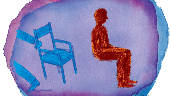My dad and the chair: When cancer came to stay