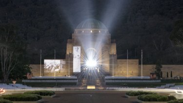 What stories will be told in the proposed upgrade to the Australian War Memorial?
