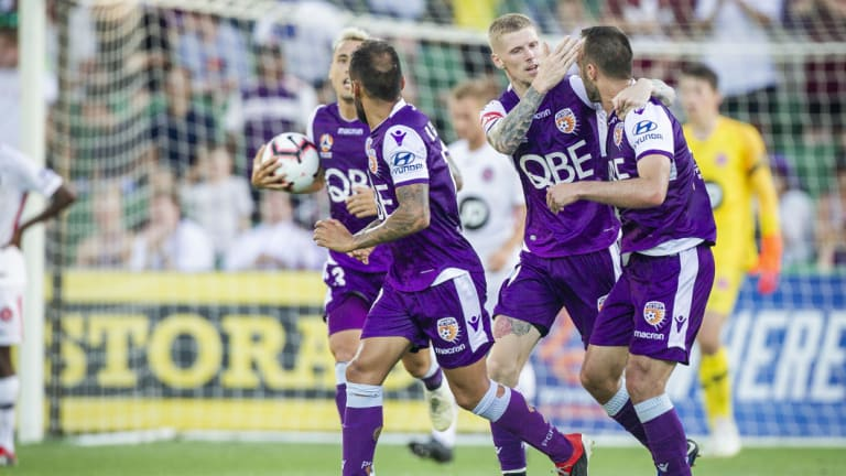 Perth Glory will provide Melbourne City with a stern challenge.