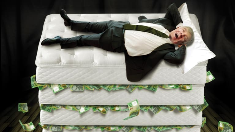 Bank interest on savings right now is little better than hiding it under your mattress.