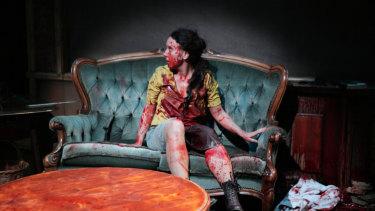 Frights: Silke Hundertmark in Jakop Ahlbom's Horror.