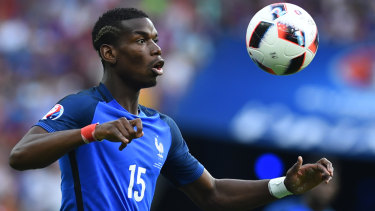 France's Paul Pogba.
